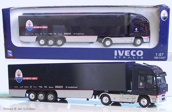 Iveco Stralis w/trailer 'Maserati Reparto Corse'. Schuco - September 2004