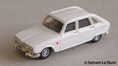 Peugeot 204 black Norev 1//86 HO scale diecast model car