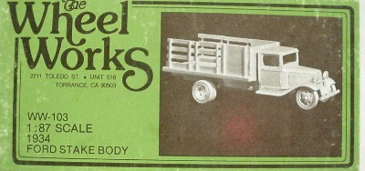 Wheelworks Ford Staketruck
